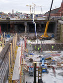 Malmo construction site 01 — Stock Photo