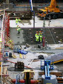 Malmo construction site 02 — Stock Photo