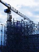 Malmo construction site 13 — Stock Photo