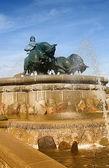 Gefion Fountain 04 — Stock Photo