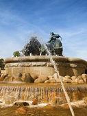 Gefion Fountain 08 — Stock Photo