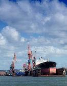 Drydock at gothenburg 02 — Stock Photo