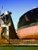 Drydock at gothenburg 08 — Stock Photo