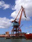 Shipping industry crane 05 — Stock Photo