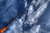 Bungee Jumper HDR — Stock Photo