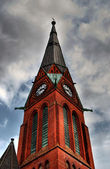 Church Spire HDR — Stock Photo
