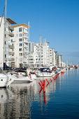 Helsingborg marina — Stock Photo
