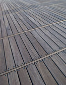 Wooden decking — Stock Photo