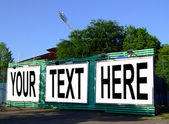 Your text here — Stock Photo