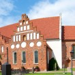 Stock Photo: Ahus church panoram02