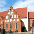 Ahus church panorama 02 — Stock Photo