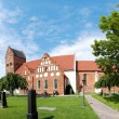 Ahus church panorama 01 - Stock Photo