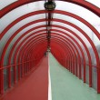 Covered walkway 01 - Stock Photo