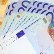 Stock Photo: Euro money