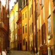 Gamlastan stockholm street 01 - Stock Photo