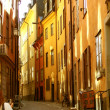 Gamlastan stockholm street 01 — Stock Photo