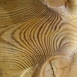 Stock Photo: Knotted wood texture