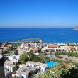 Platanias elevated view — Stock Photo