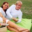 Romantic picnic — Stock Photo #2492443