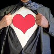 Stock Photo: Superhero lover