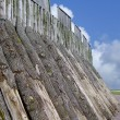 Stock Photo: Swedish trelleborg fortification