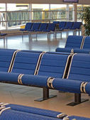Airport departure lounge 02 — Stock Photo