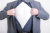 Business superman — Stock Photo