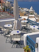 Eating out in santorini 06 — Foto de Stock