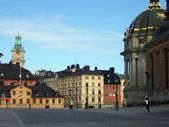 Gamlastan stockholm square — Stock Photo