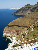 Santorini caldera 05 — Stock Photo