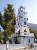 Santorini church 12 — Stock Photo