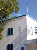 Santorini church 13 — Stock Photo