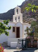 圣托里尼岛教堂 06 — 图库照片