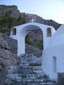 Santorini church 16 — Stock Photo