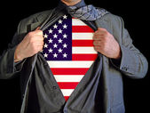 Superhero america — Stock Photo