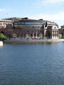Swedish parliament 01 — Stock Photo