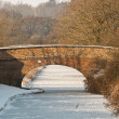 Stock Photo: Canal Bridge in Winter