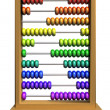 Educational abacus — Stock Photo