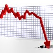 Chart showing bad things — Stockfoto #2213299