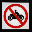 Royalty-Free Stock Photo: No motorbikes