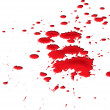 Blood splat — Stock Photo