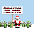 Christmas has been cancelled — Stock Photo
