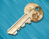 Key to the House — Stock Photo