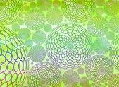 органический зеленый абстрактный фон — Стоковое фото