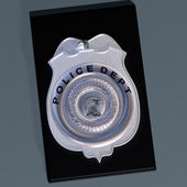 Police badge — Stock Photo
