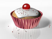 Yummy Cupcake — Stock Photo