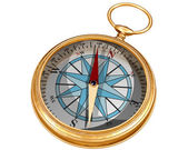Isolated compass — Stock Photo