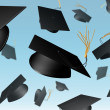 Mortar Board chuck — Stock Photo