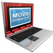 Internet movies — Stock Photo