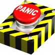 Stock Photo: Industrial Panic button